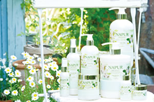 NAPUR(ナピュール)Natueal Airy shampoo&treatment/oil mist