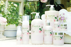 NAPUR(ナピュール)Sensitive shampoo&treatment/bubble